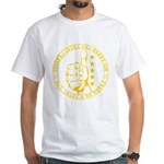 Stuffed Drunk & Merry: Full M White T-Shirt