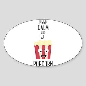 Eat Popocorn Sticker