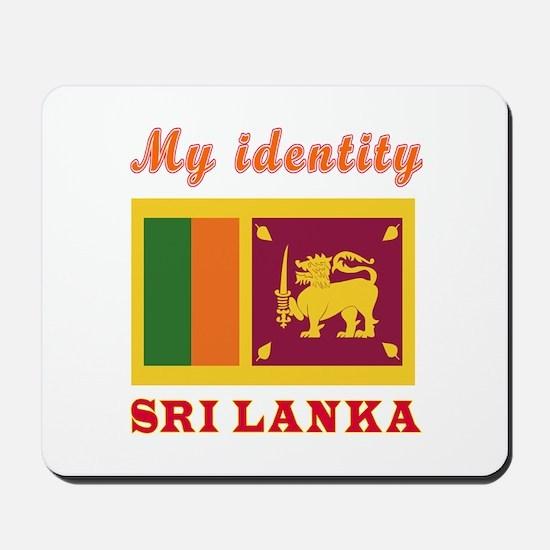 My Identity Sri Lanka Mousepad