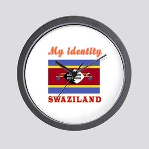 My Identity Swaziland Wall Clock