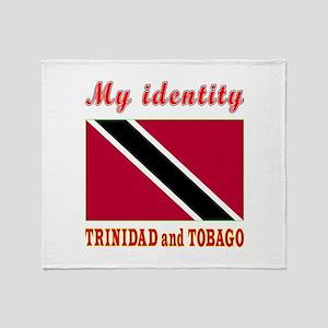 My Identity Trinidad and Tobago Throw Blanket