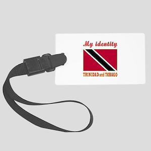 My Identity Trinidad and Tobago Large Luggage Tag