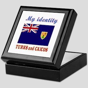 My Identity Turks and Caicos Keepsake Box