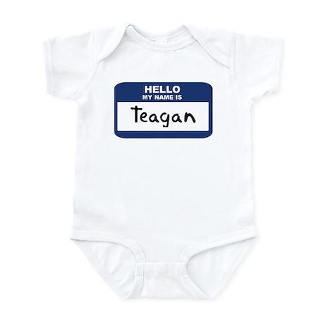 Hello: Teagan Infant Bodysuit