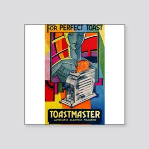 Toastmaster 1-A-1 Rectangle Sticker