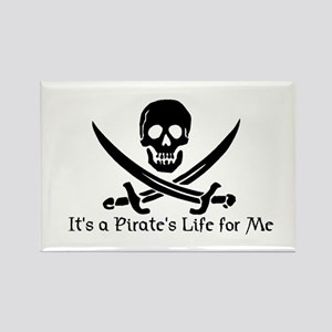 Jolly Roger (S) Rectangle Magnet