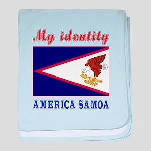 My Identity America Samoa baby blanket