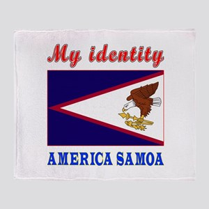 My Identity America Samoa Throw Blanket