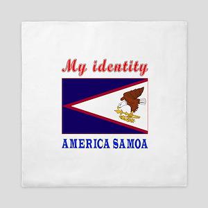 My Identity America Samoa Queen Duvet