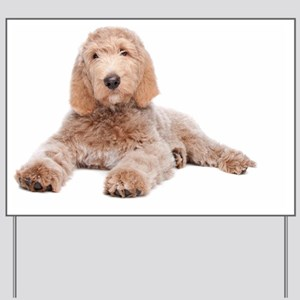 Yard Sign - Labradoodle Puppy