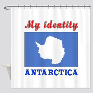 My Identity Antarctica Shower Curtain