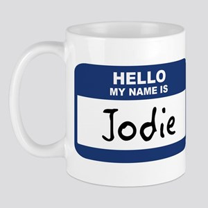 Hello: Jodie Mug