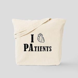 I Heart Patients Tote Bag