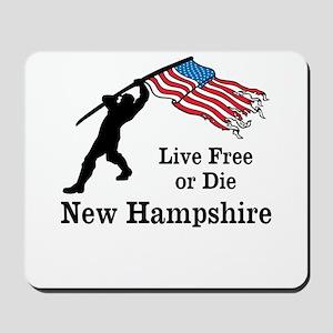Live Free Mousepad