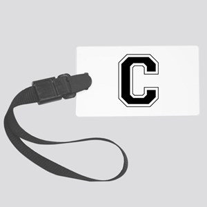 Collegiate Monogram C Luggage Tag
