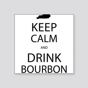 Keep Calm and Drink Bourbon Sticker