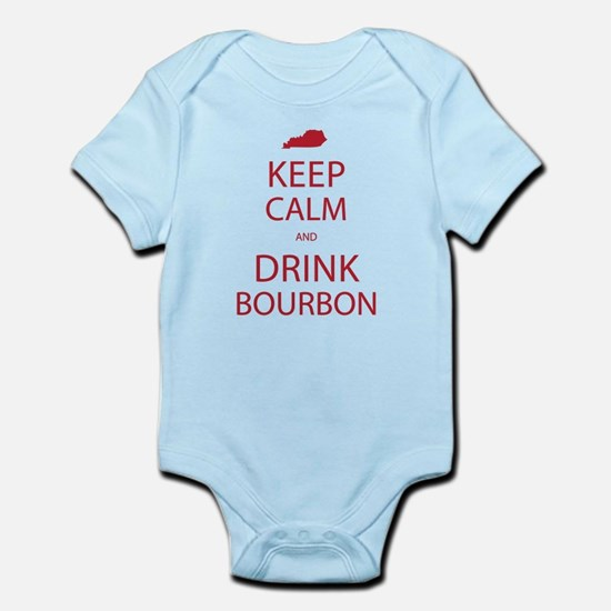 Keep Calm and Drink Bourbon Body Suit