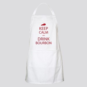 Keep Calm and Drink Bourbon Apron