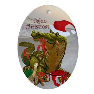 cajun christmas ornaments cafepress - Cajun Christmas Decorations