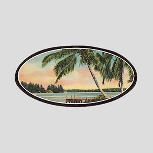 Vintage Coconut Palms Patches