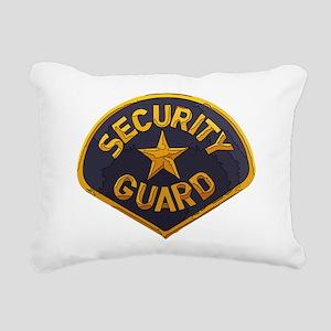 Security Guard patch Rectangular Canvas Pillow