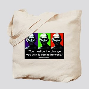 Be the change... Tote Bag