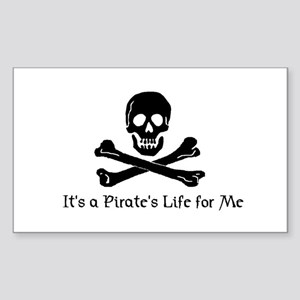 Jolly Roger (C) Rectangle Sticker