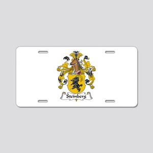 Steinberg Aluminum License Plate