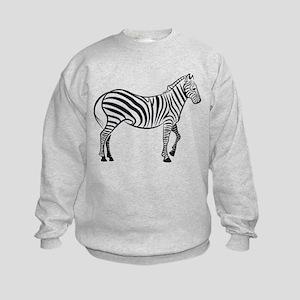 Wild Zebra Sweatshirt