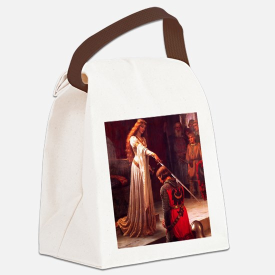 Knighting the Knight Canvas Lunch Bag