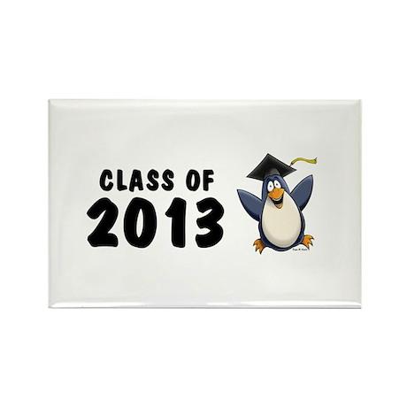 2013 Graduate Penguin Rectangle Magnet (10 pack)