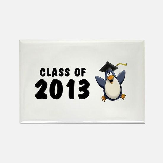 2013 Graduate Penguin Rectangle Magnet