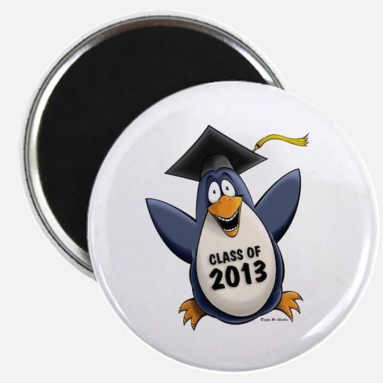 2013 Graduate Penguin Magnet