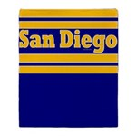 San Diego Throw Blanket
