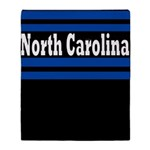 North Carolina Throw Blanket