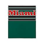 Miami Throw Blanket
