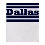 Dallas Throw Blanket