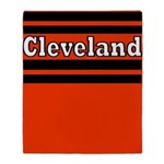 Cleveland Throw Blanket