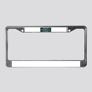 Alabama Paramedic License Plate Frame