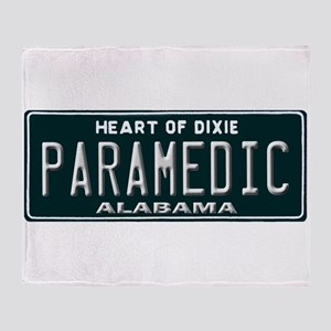 Alabama Paramedic Throw Blanket