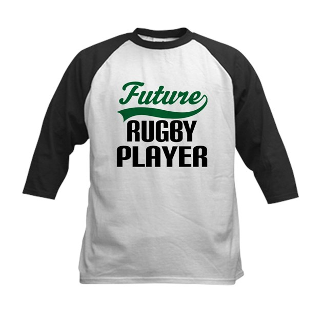Future Rugby Player Kids Kids Baseball Tee Future Rugby