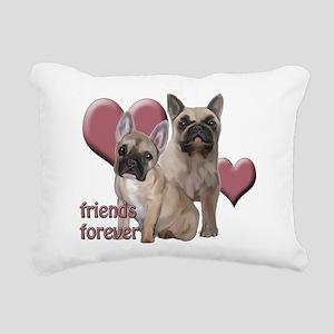 Friends Forever Rectangular Canvas Pillow