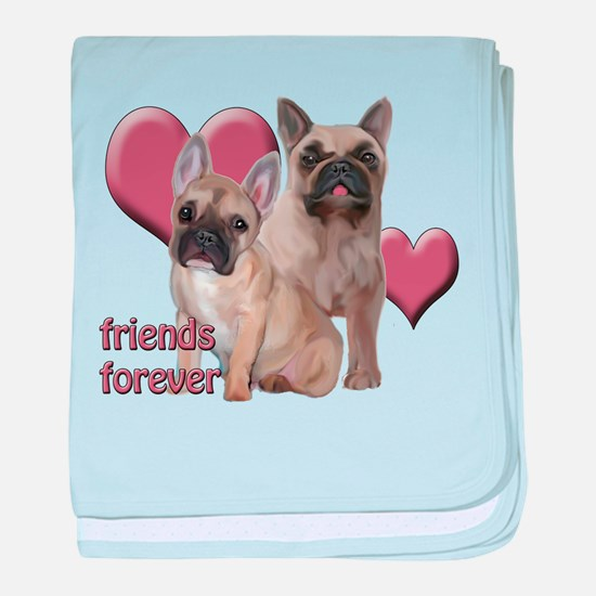 Friends Forever baby blanket
