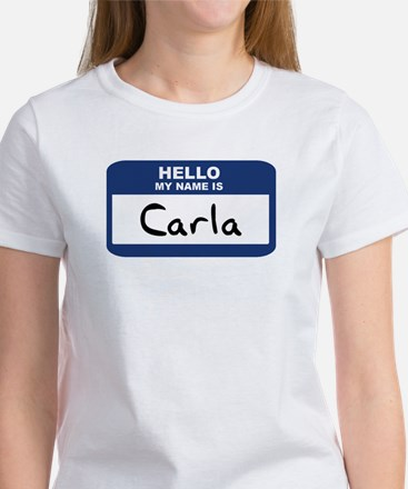 Hello: Carla Women's T-Shirt