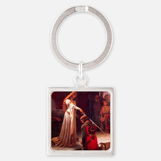 Knighting the Knight Square Keychain