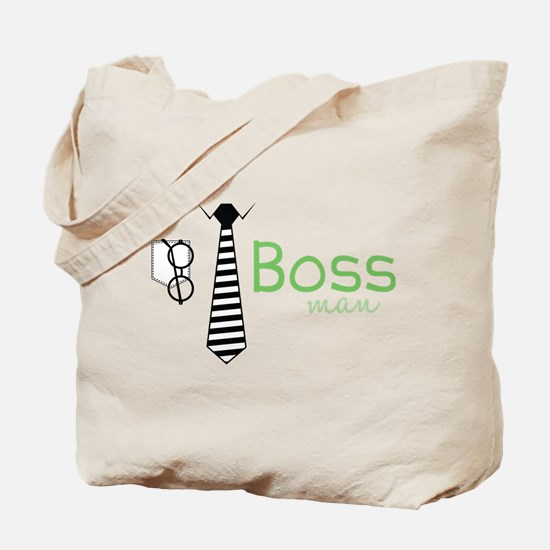 Boss Man Tote Bag
