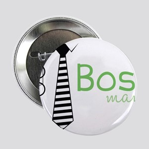 "Boss Man 2.25"" Button"