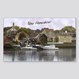 New Hampshire! ~ Rectangle Sticker