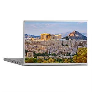Laptop Skins - View on Acropolis at sunset