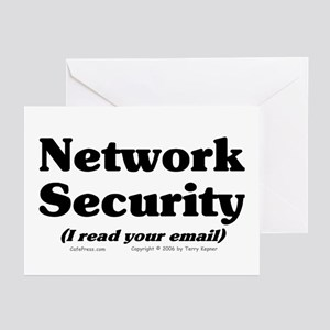 Network Sec. Greeting Cards (Pk of 10)